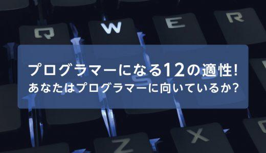 プログラマーになる12の適性!あなたはプログラマーに向いているか?
