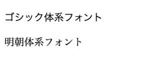 font-familyの説明