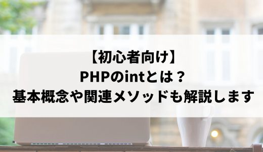 【初心者向け】PHPのintとは?基本概念や関連メソッドも解説します